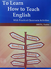 To Learn How to Teach English画像